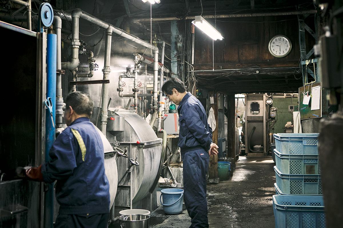 川合染工場